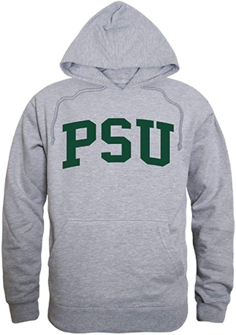 Portland State University Vikings Game Day Hoodie Sweatshirt Heather Grey