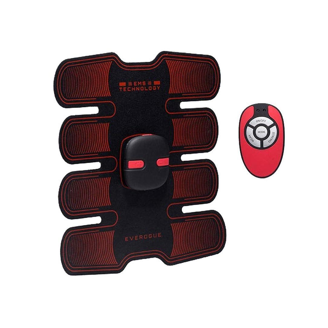 あえて興味副産物フィットネストレーニングギア、リモコン付きEMS筋肉刺激装置USB充電式究極の腹部刺激装置 - 男性用女性用筋肉トナー (Size : A)