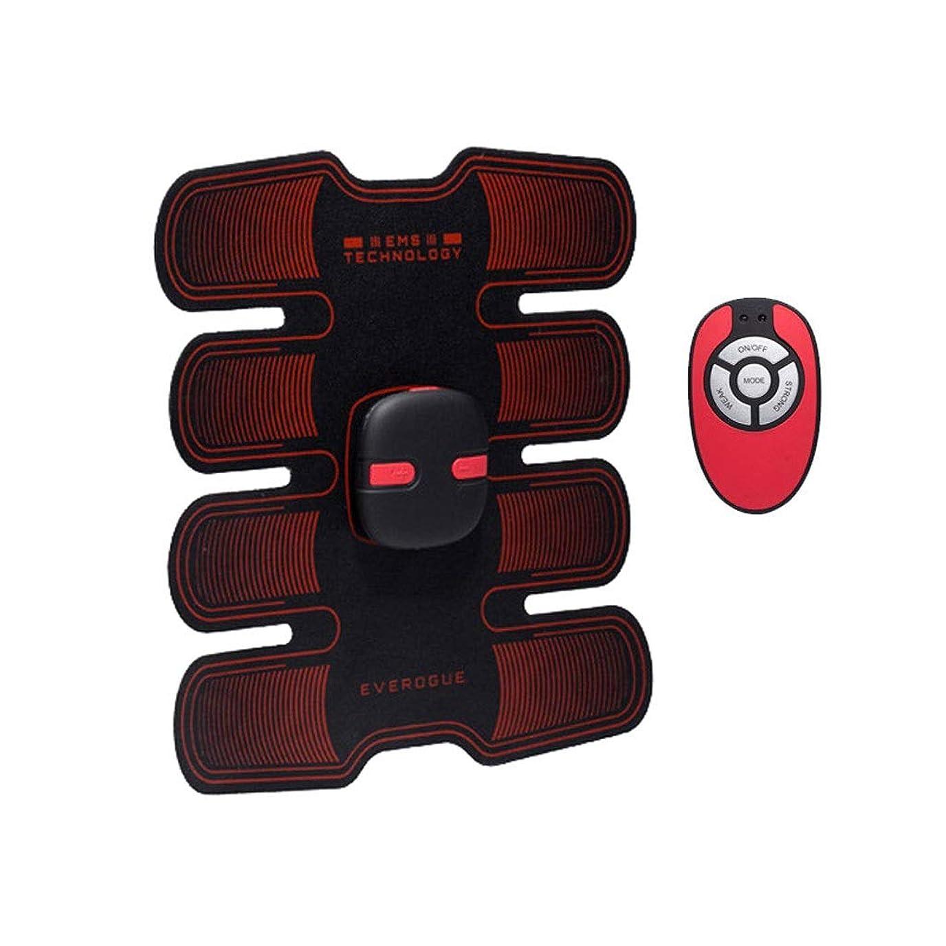 言い直すホップ不愉快にフィットネストレーニングギア、リモコン付きEMS筋肉刺激装置USB充電式究極の腹部刺激装置 - 男性用女性用筋肉トナー (Size : A)