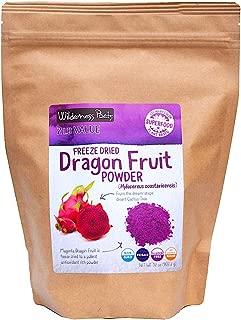 Wilderness Poets Freeze Dried Dragon Fruit Powder - Pink Pitahaya (32 Ounce)