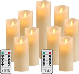 YIWER Flameless Candles, Φ 2.2