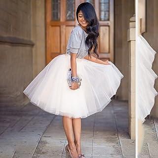 42dea2824 Amazon.es: falda tul mujer - Blanco