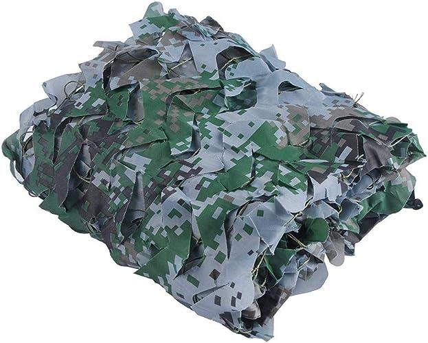 YCQCZW Filet de Camouflage extérieur Tissu d'Oxford Net De Camouflage Numérique pour Halloween Woodland Camping Shelter Forest Shooting Sélectionnez La Taille Dschungeltarnnetz