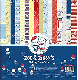 Zak and Zoe Blue and White Stars Receiving Security Blanket and Rising Start Mark The Moment Board Soft and Cuddly