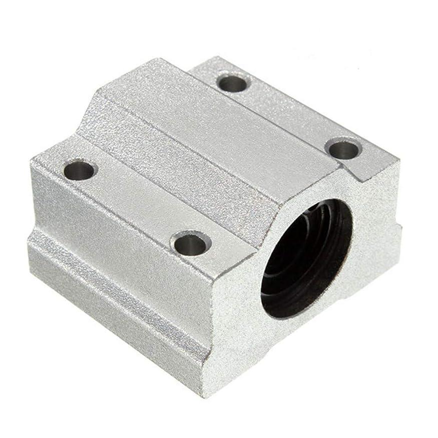 ブルーベル未払い元気CNC のための Queenwind SC8UU 8mm のアルミニウム線形動きのボールベアリングのスライドブッシュ