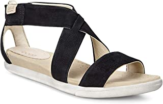 Footwear Womens Women's Damara Strap Sandal, Black Casual, 38 EU/7-7.5 M US