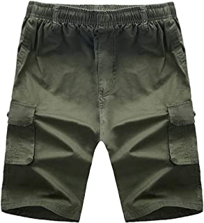 0d699a421e0da4 Corriee 2019 Gift Idea Men's Cargo Shorts Summer Loose Casual Multi-Pocket  Classic Fit Outdoor