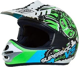 XL-C EBTOOLS Casque et lunettes de protection universels en cuir PU pour scooter de moto universelle