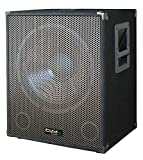 IBIZA SUB15A AKTIVER 15' SUBWOOFER 800 WATT MIT VERSTÄRKER PARTY DISCO MUSIK...