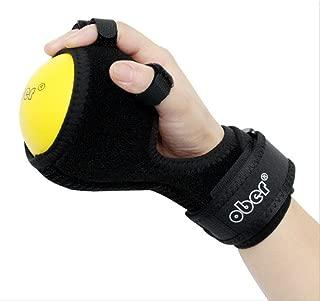 Finger Board Finger Device Training Equipment Anti-Spasticity Ball Splint Hand Functional Impairment Finger Orthosis Hand Ball Rehabilitation Exercise Fingers hemiplegia WH-035
