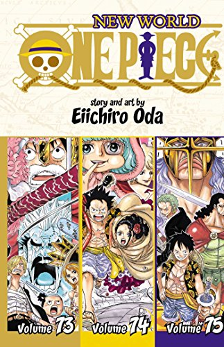 One Piece (3-in-1 Edition), Vol. 25: Includes vols. 73, 74 & 75 (One Piece (Omnibus Edition)) [Idioma Inglés]