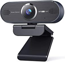 Webcam Ultra Smooth 60FPS 1080P Web Camera with Stereo Microphone Auto-Focus for Online Conference, Calling, Video Streami...