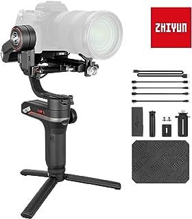 Zhiyun Weebill S Gimbal Reflex - Estabilizador Gimbal de 3 Ejes Compatible con cámaras Canon Sony Nikon y Panasonic