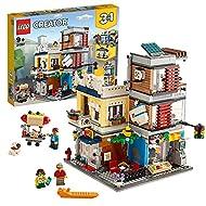 LEGO31097Creator3in1TownhousePetShop&CaféBuildingToyBricksetwith3Minifigures,abrick-...