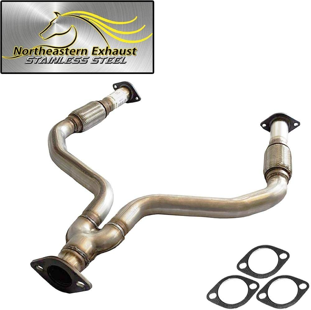 Stainless trend rank Steel Exhaust Y-Pipe fits: G35X sedan 2003-2 2004-2006 2021 spring and summer new