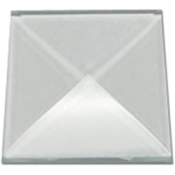 Stained Glass Supplies 1 x 2 clear bevels box of 30