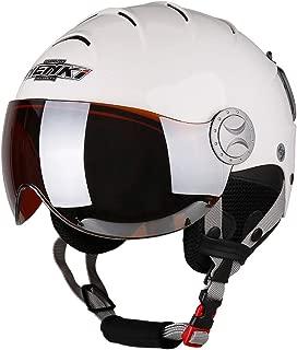NENKI Ski Helmet with Visor Snow Sport Skiing Snowboard Helmets for Men Women & Youth Anti Fog Visor NK-2012