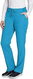 Grey's Anatomy 4277 Women's Modern Fit 6-Pocket Tie Front Straight Leg Scrub Pant