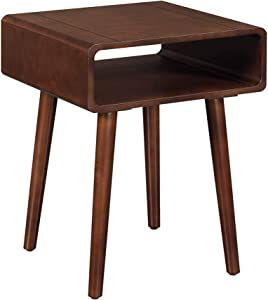 Convenience Concepts Napa End Table, Espresso