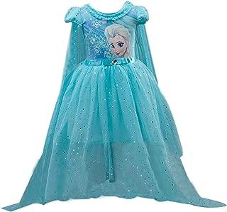 Short Sleeve Princess Dress Birthday Party Tutu Dresses