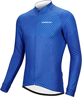 TAILWIND Polar Thermal Cycling Jersey – Extra Warm Long-Sleeve Cycle Jersey for Winter Rides with Quick Drying and Warm Fa...