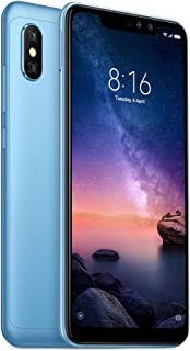 Xiaomi Redmi Note 6 Pro Dual SIM - 64GB, 4GB RAM, 4G LTE, Blue - International Version