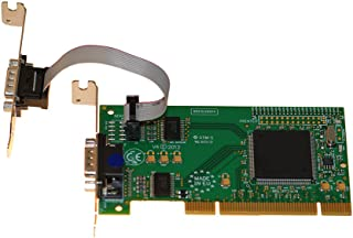 Intashield 2 Port RS232 Low Profile PCI 卡