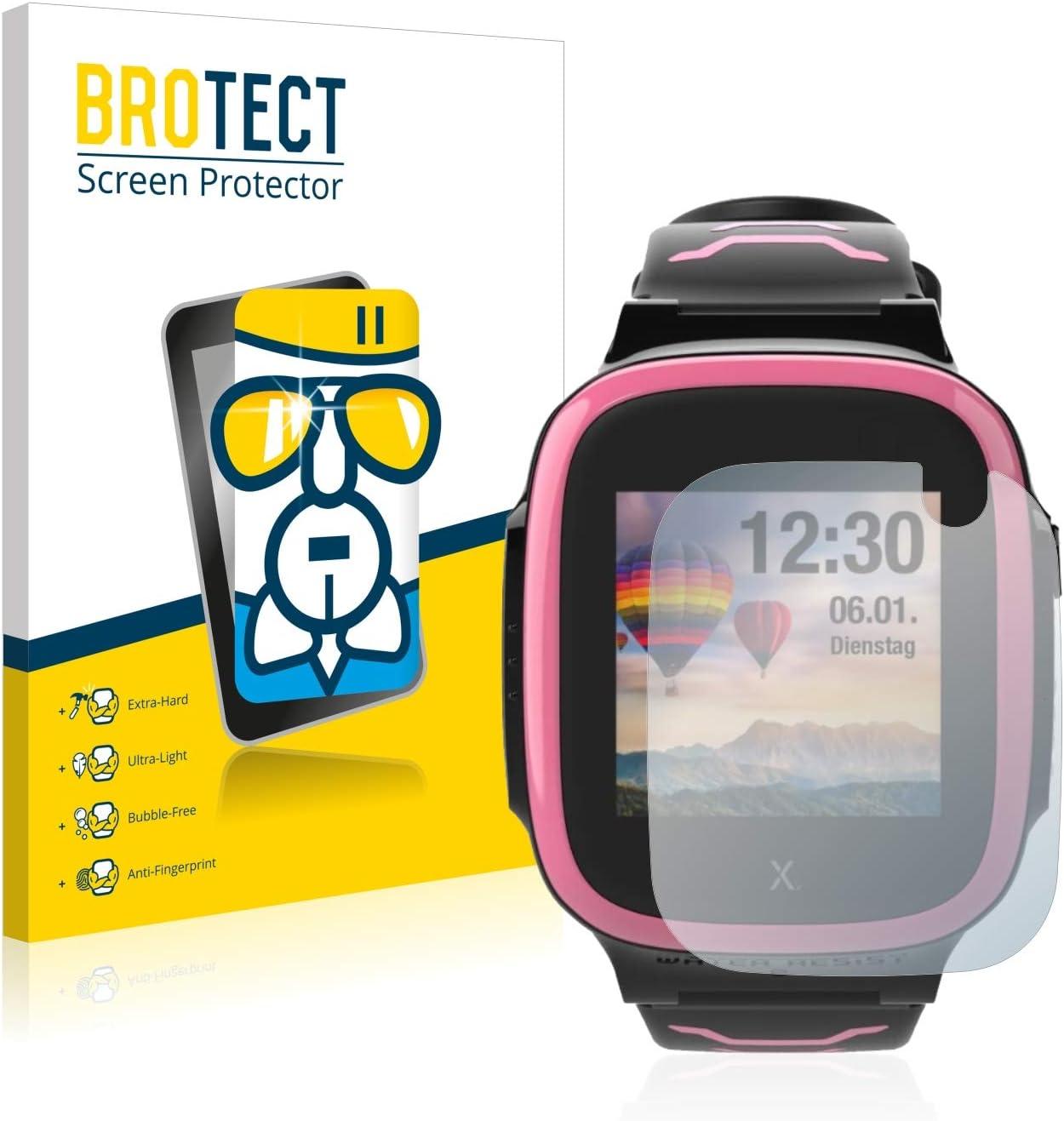 BROTECT Protector Pantalla Cristal Compatible con Xplora X5 Play Protector Pantalla Vidrio - Dureza Extrema, Anti-Huellas, AirGlass