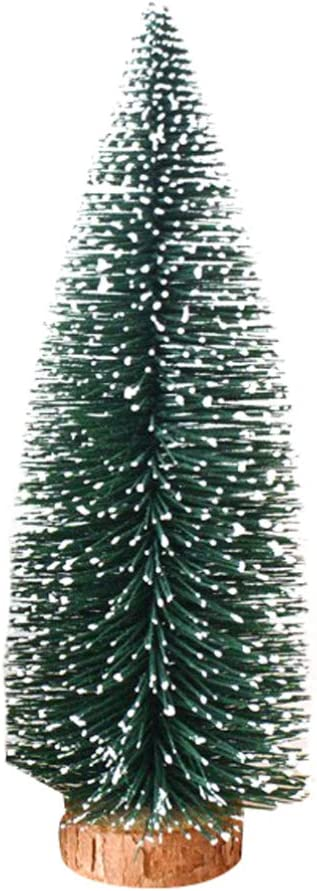 Angoily 12pcs Mini Christmas free shipping Tree Christm House Accessories Doll Special Campaign