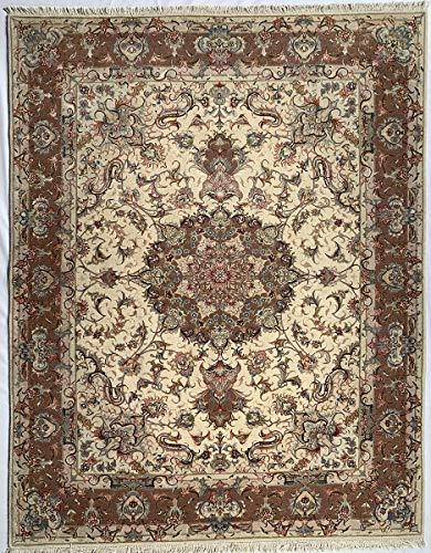 Tapis Tabriz 60R mesure 154 x 200