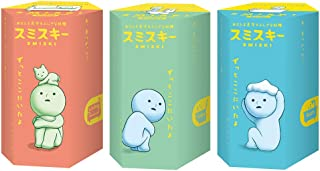 Dreams Smiski Glow in The Dark Mini Figure Set: Living, Toilet + Bath Series | 3 Assorted Blind Box