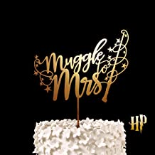 Best muggle to mrs cake topper Reviews