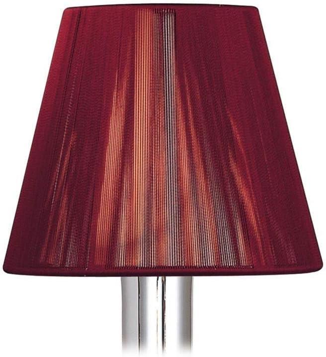 Inspired Mantra - Silk String - Clip On String Shade Vino Tinto 80, 130 mm x 110 mm