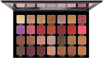 باليت ظل الجفون ديزرت من كاراكتر، درجة اللون OBD002 - 28 لون