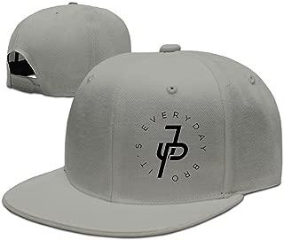 Cotton Jake Paul It's Every Day Unisex Flat Brim Baseball Hat