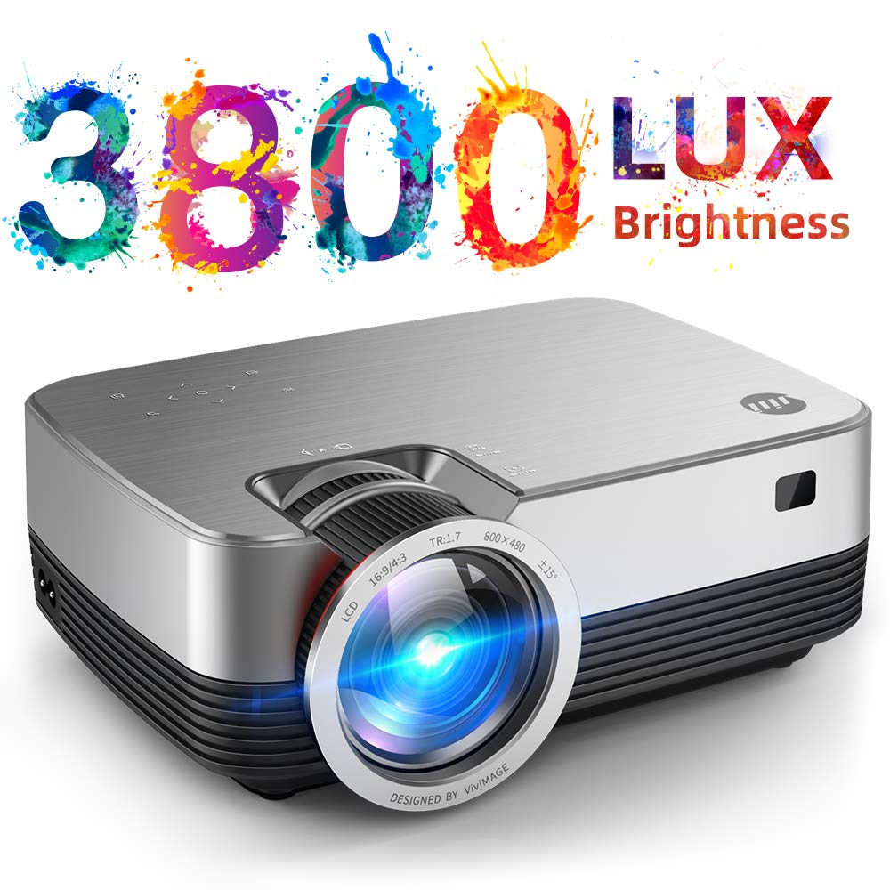 VIVIMAGE Projector Supported Portable Compatible