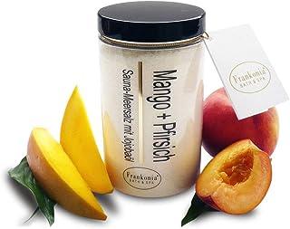 Lashuma Cosmetics Produits de soin à la mangue et à la pèche, au choix: gel douche, bain moussant, shampooing, exfoliant,...