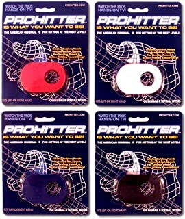 Baseball/Softball ProHitter Proper Grip Batter's Training Aid (Wood or Aluminum Bats, with or Without Batting Glove)