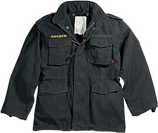 (ロスコ) ROTHCO M-65 フィールドジャケット ミリタリー ブルゾン Black ブラック [8608]