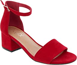 2 inch red heels