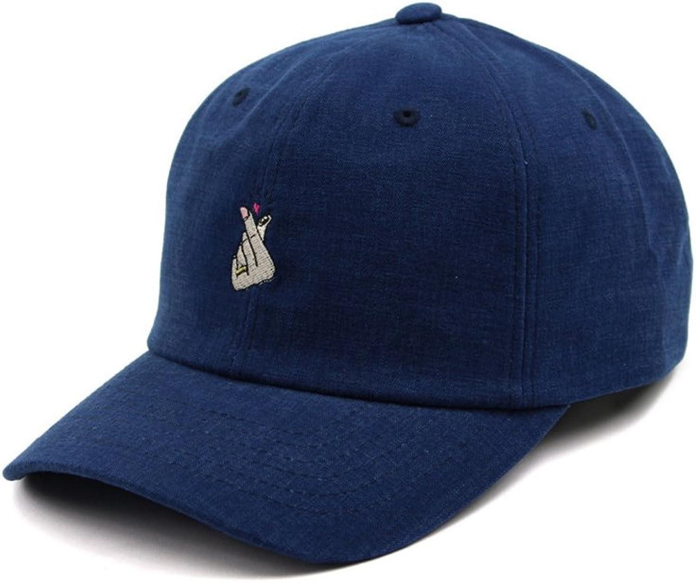 YANGXIAOYU South Korean Men and Women Cap Baseball Caps. (color   bluee, Size   S)