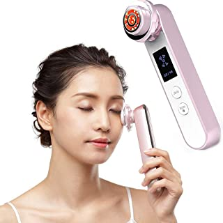Face Lift Machine, EMS Facial Massager, RF Skin Tightening Machine, High Frequency Facial Machine, Portable Rechargeable F...