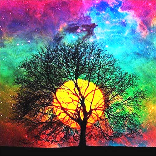5D Diamond Painting Kit, Full Drill Arts Craft Canvas Supply for Home Wall Decor Adults and Kids(Neasyth Store) (14X14in)