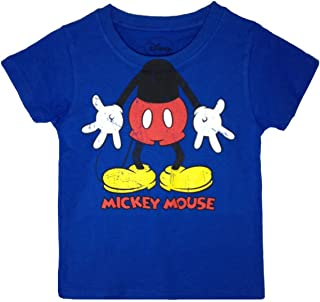 Disney Boys' Little Boys' Classic Mickey Mouse Short Sleeve T-Shirt