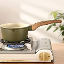 Kitchen Cookware Multi Functional Aluminum Alloy Milk Pan Non-Stick Cooking Pan Tools Mini Butter Warmer Saucepan Pan Cook...