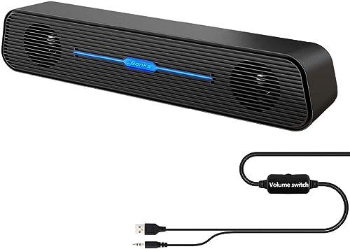 TuparGo N5 Soundbar USB Speaker for TV and computer