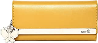 Butterflies Women's Wallet (Mustard) (BNS 2376MSD)