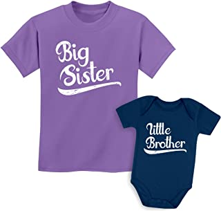 Sibling Shirts Set for Sisters and Brothers Girls & Boys Gift Set