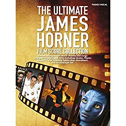 THE Ultimate James Horner Film Score Collection Piano Vocal Guitar