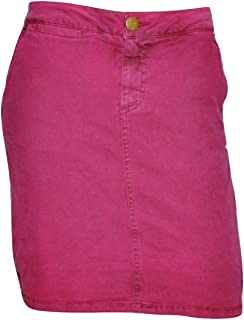 Marc by Marc Jacobs Dyed Stretch Pigment Pop Denim Skirt